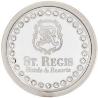 St. Regis Silver with Crystals